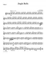 Christmas Carol Jingle Bells Sheet Music