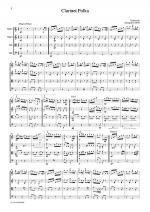 Traditional Clarinet Polka Sheet Music