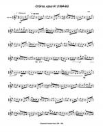 Chôros, opus 61 (1994-95) for solo violin Sheet Music