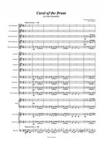 Carol of the Drum - for Jazz Ensemble Sheet Music
