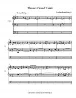 Theater Grand Stride Sheet Music