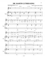 Dr. Martin Luther King Sheet Music