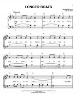 Longer Boats Sheet Music