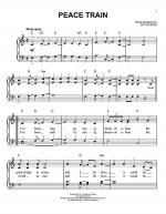Peace Train Sheet Music