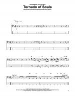 Tornado Of Souls Sheet Music