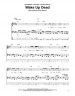 Wake Up Dead Sheet Music