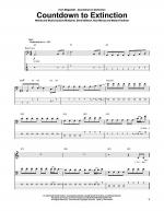 Countdown To Extinction Sheet Music