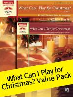 What Can I Play for Christmas, 1 & 2 (Value Pack) Sheet Music
